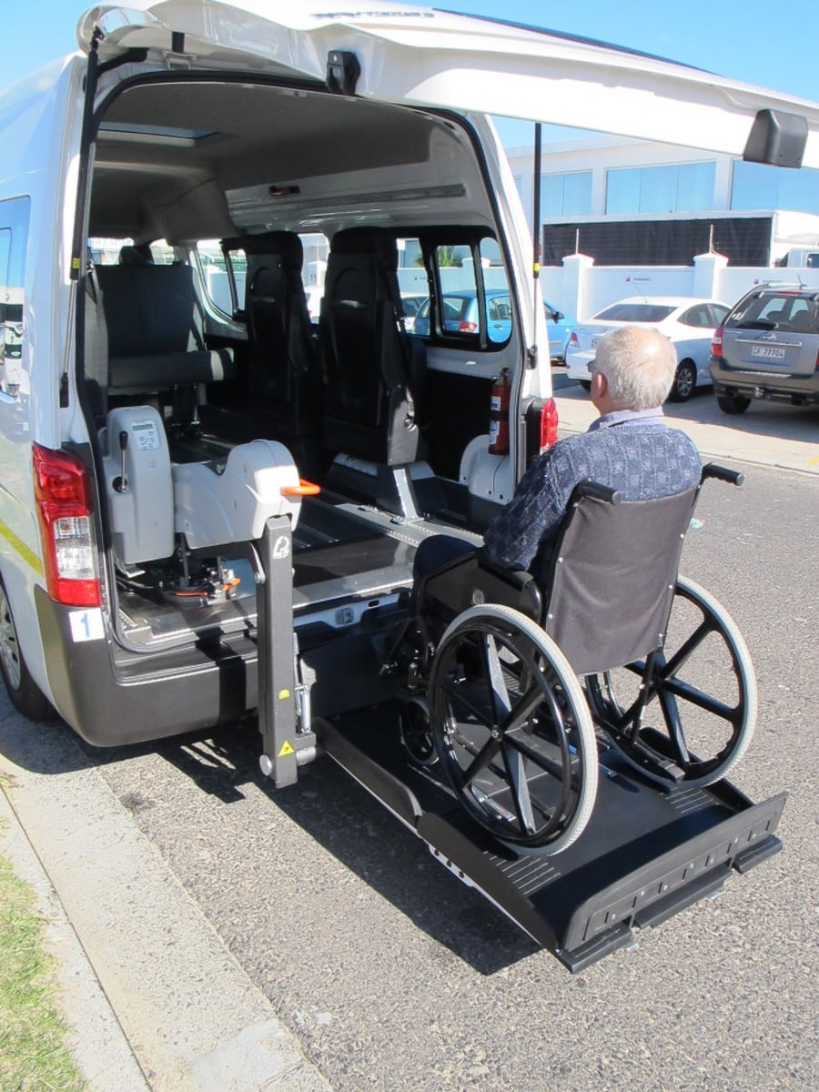 wheelchair taxi