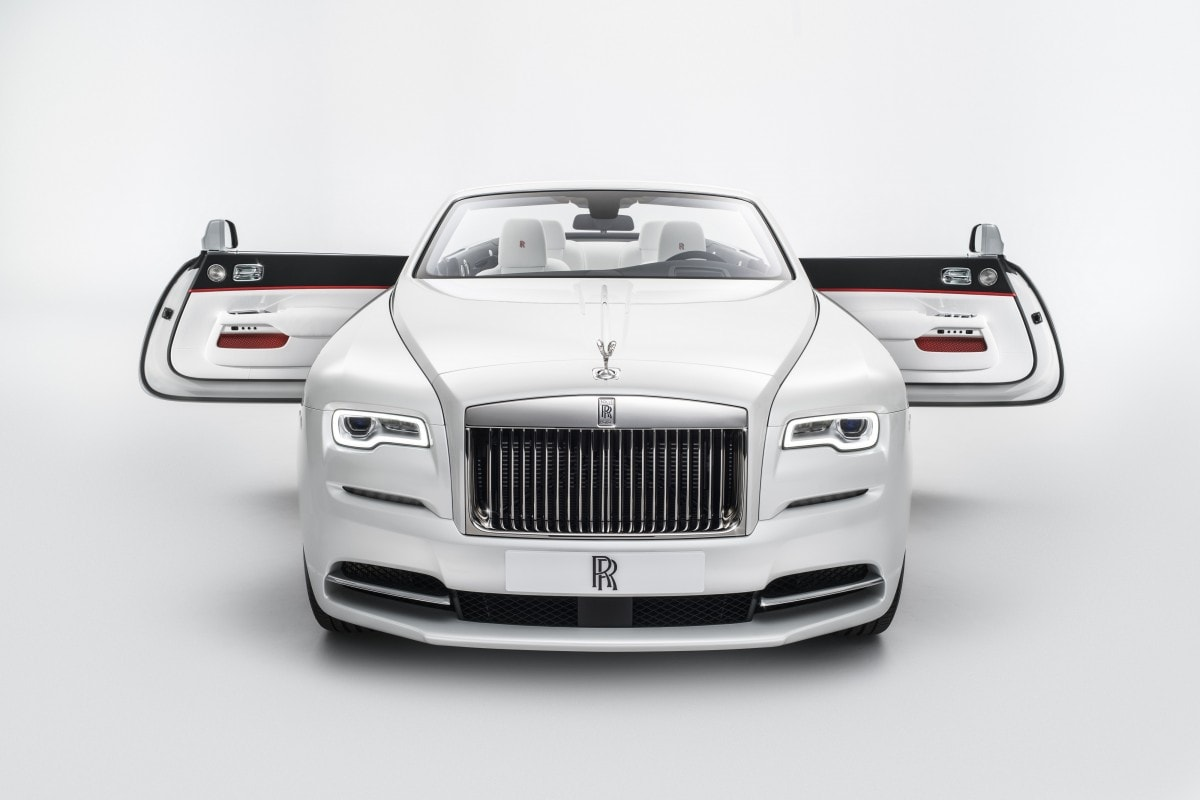 rolls-royce dawn car