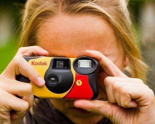 disposable kodak camera