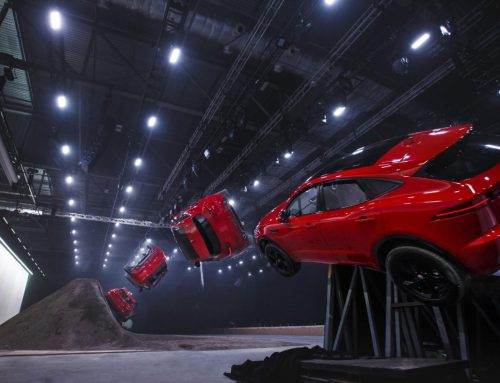 Jaguar E-PACE does a 15m 270d 'barrel roll' to take the Guinness World Record