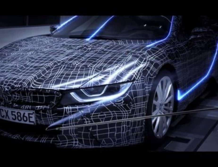 The new 2018 BMW i8 Roadster is officially teased