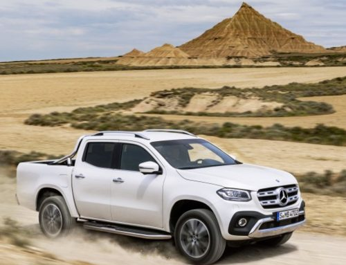 The Mercedes Benz bakkie is in South Africa, called X-Class