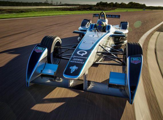 Formula E 1 racecar