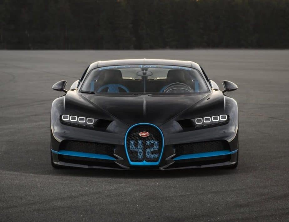 0-400-0 km/h in under 42s for Bugatti Chiron