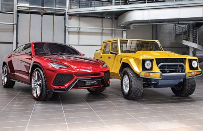 Lamborghini SUVs - LM002 + Urus