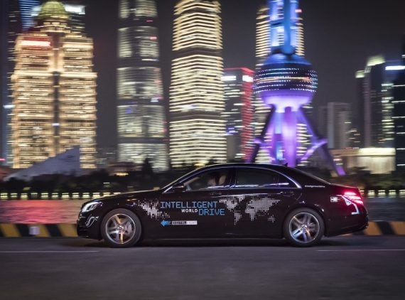 Merc Intelligent World Drive 5