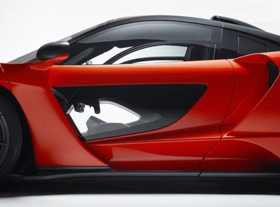 McLaren Senna Door detail