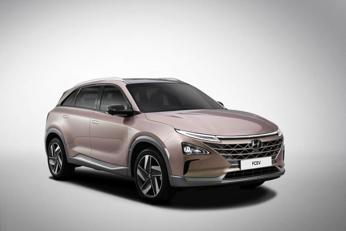 Hyundai FCEV to debut self-driving tech