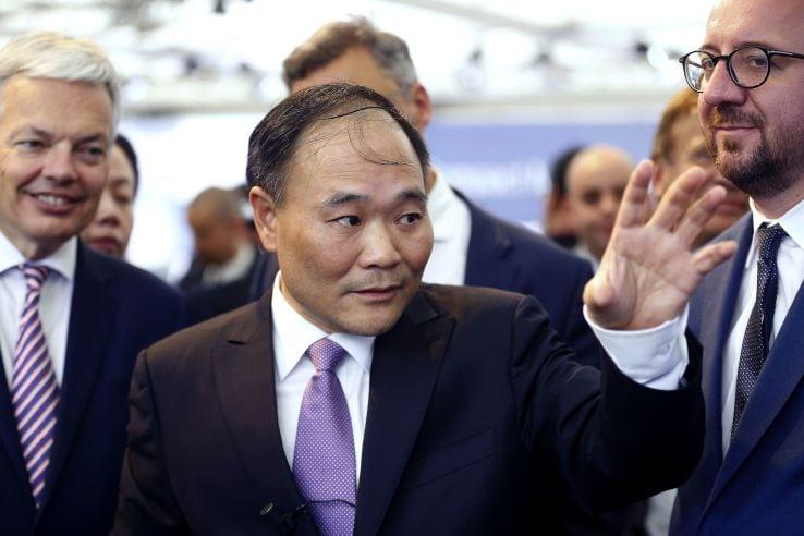 CEO Li Shufu buy Daimler shares