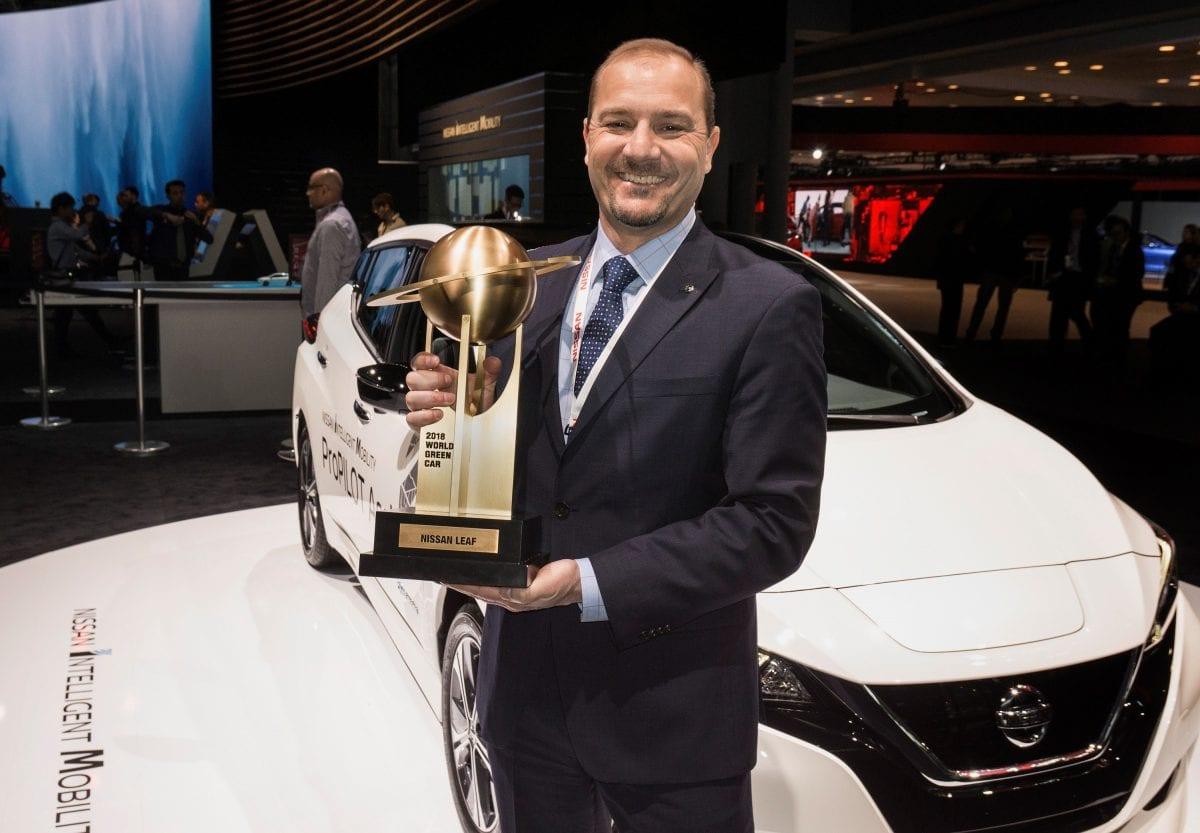 Nissan LEAF world car awards