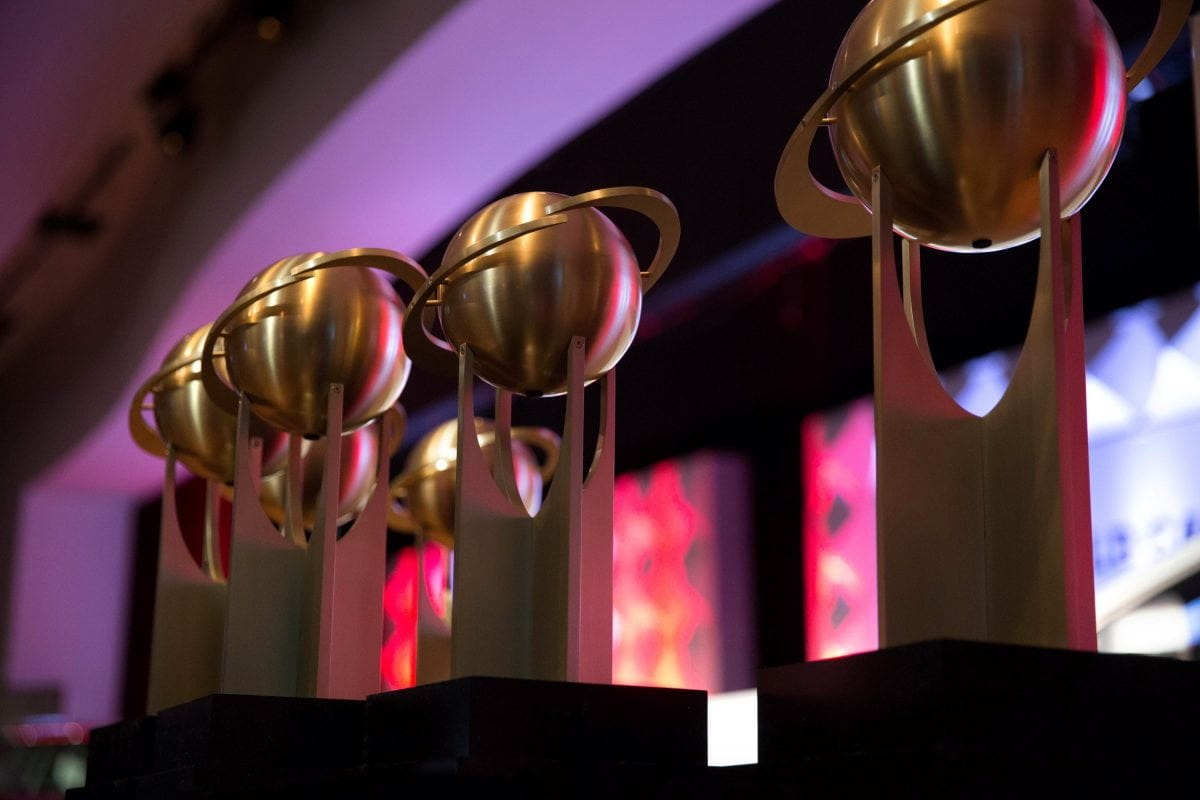 World Car Awards trophies