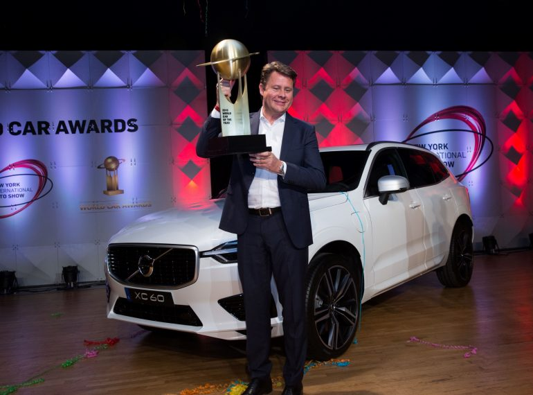 volvo xc60 world car awards winner