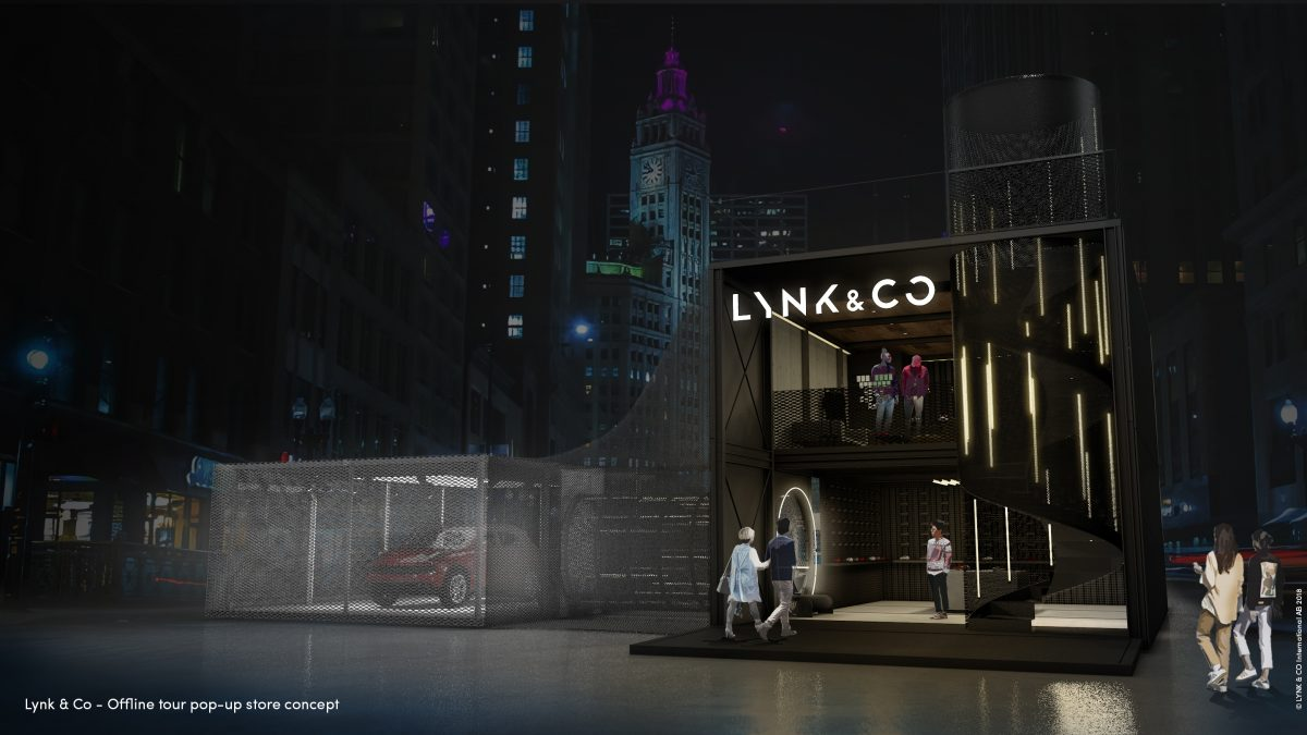 Lynk & Co pop up store