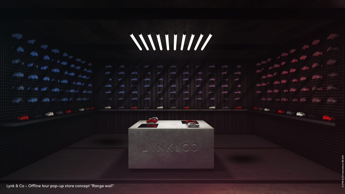 Lynk & Co store concept