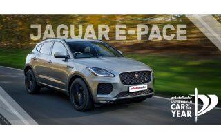 Car of the Year Semi-Finalist Jaguar E-Pace