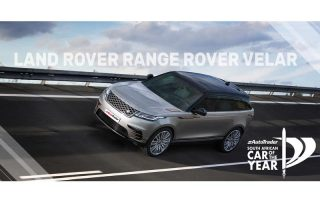 Car of the Year Semi-Finalist Land Rover Range Rover Velar