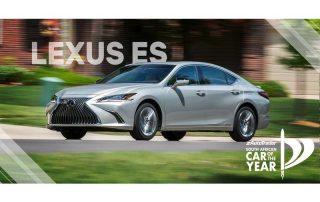 Car of the Year Semi-Finalist Lexus ES