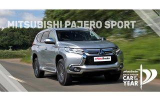 Car of the Year Semi-Finalist Mitsubishi Pajero Sport