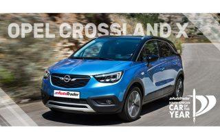 Car of the Year Semi-Finalist Opel Crossland X