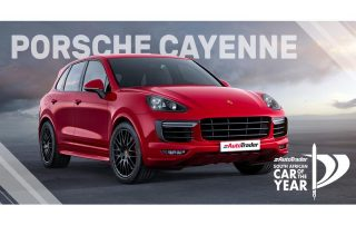 Car of the Year Semi-Finalist Porsche Cayenne