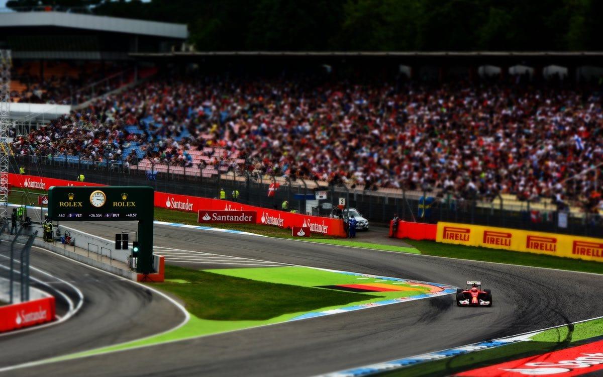 German Formula 1 Grand Prix Hockenheimring