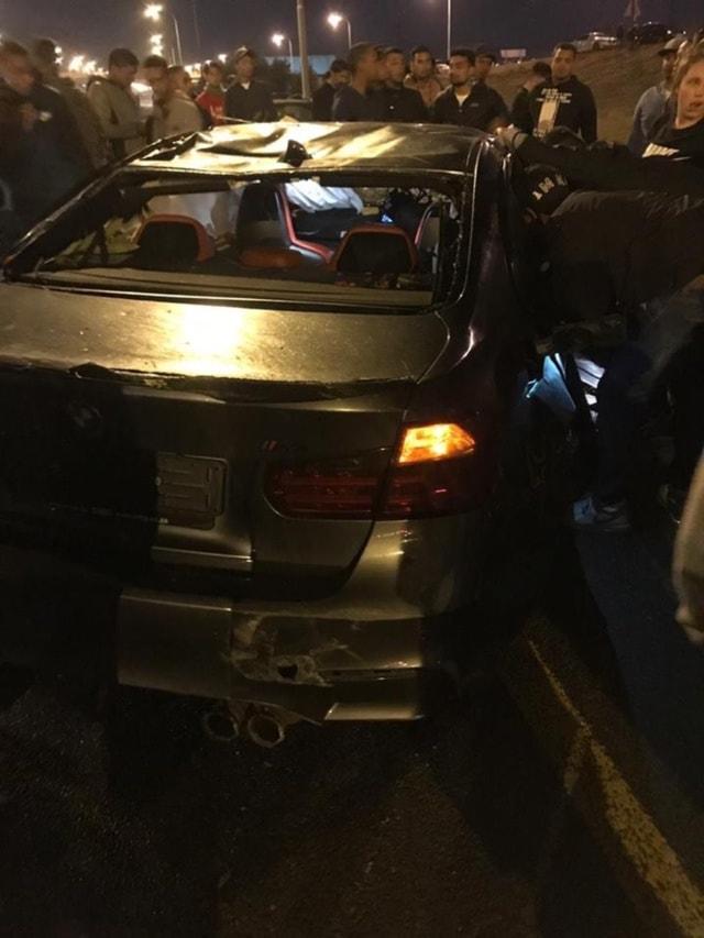 Illegal Drag Racing Crash Cape Town
