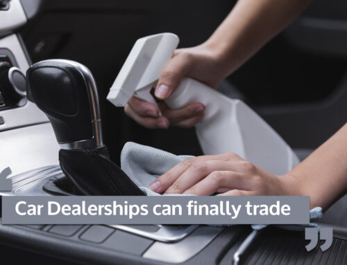 Lockdown finally (un)locked for car dealerships
