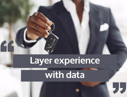 Car dealerships layer experience with data on the dealer floor